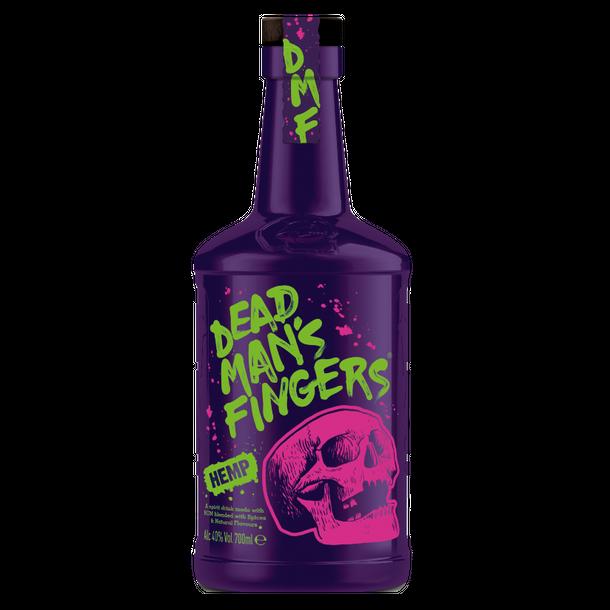 Dead Mans Fingers Hemp Rum 40%, 70cl