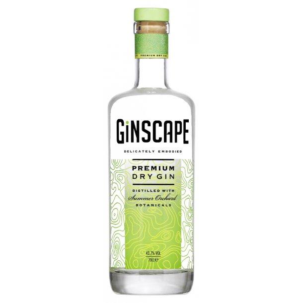 Ginscape Summer Orchard Dansk Gin 43,7% 70cl.