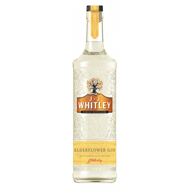 J.J. Whitley Elderflower Gin 40% 70cl