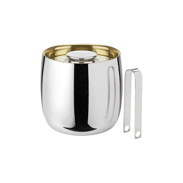 Stelton Isspand / champagnekøler i blankt stål incl. istang