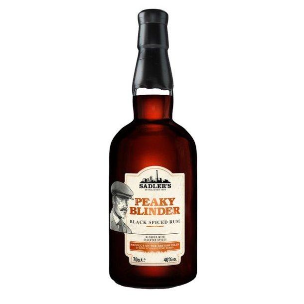 Peaky Blinder Black Spiced Rum 40% 70cl