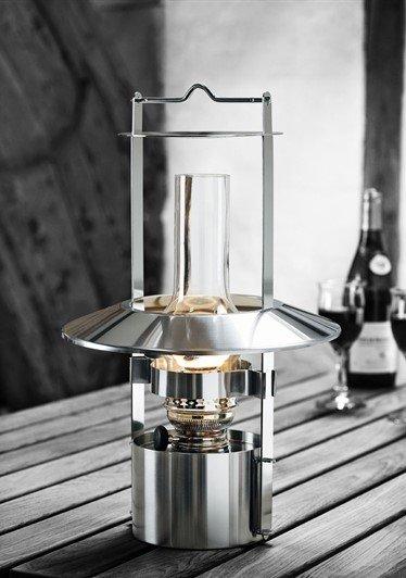 Stelton EM Skibslampe 43 cm i satinpoleret rustfri stål