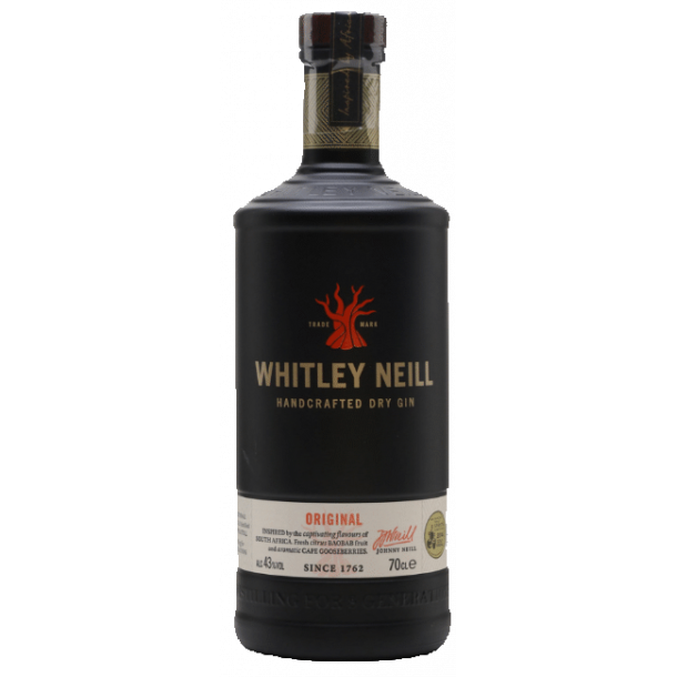 Whitley Neill Original Gin 43% 70cl