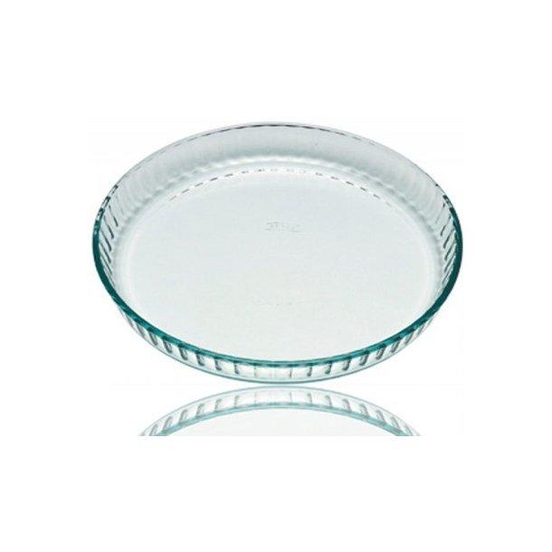 Pyrex Classic Tærtefad, ovnfast rund - 27 cm eller 30 cm