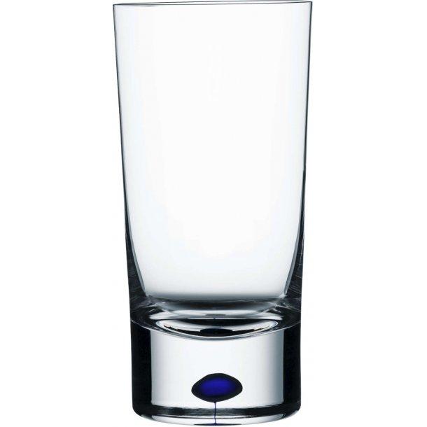 Orrefors Intermezzo Highball glas 40 cl i krystal - blå