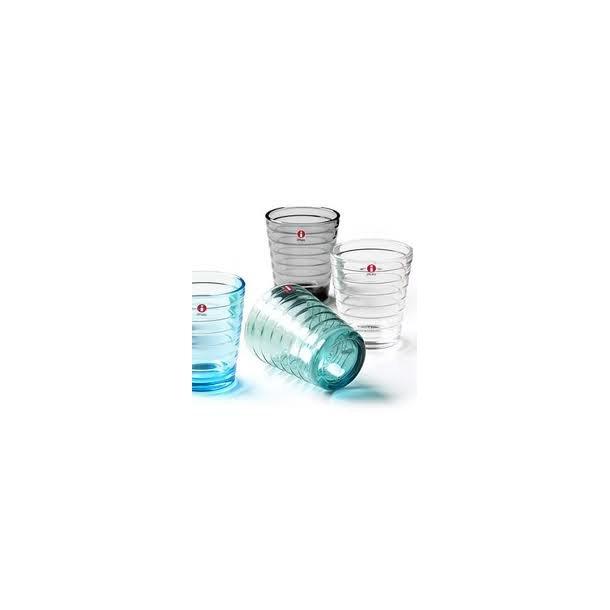 Aino Aalto glas 33 cl i skønne farver - æske med 2 stk - 6 farver