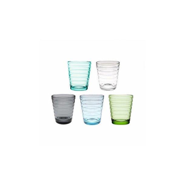Aino Aalto Glas i skønne farver - 22 cl, 2 stk i æske 6 farver