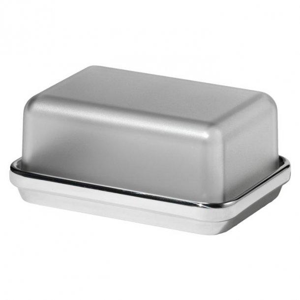 Alessi smørbox i højglanspoleret stål