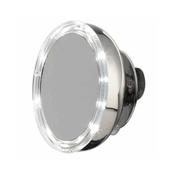 Splinterny Möve Makeup spejl væghængt, lys, batteri - hos SmartClub QP71