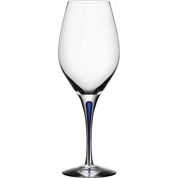 Orrefors Intermezzo Rødvinsglas Balance 44 cl, krystal - blå