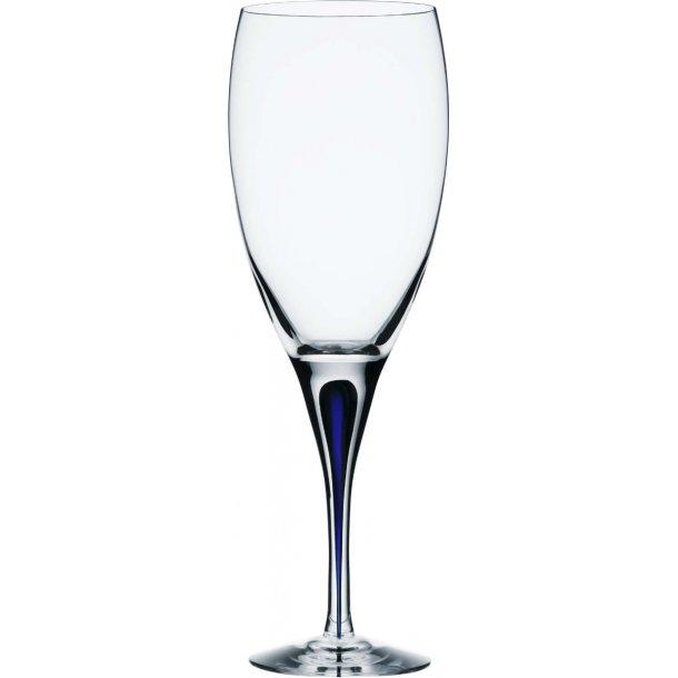 Orrefors Intermezzo Rødvinsglas 32 cl, krystal - blå