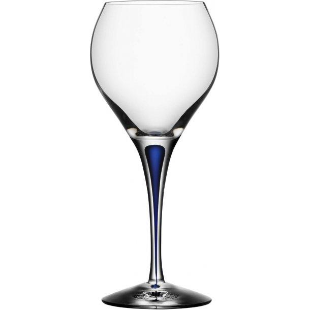 Orrefors Intermezzo Sweet vinglas 21 cl i krystal - blå