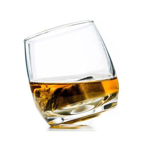 Sagaform Rocky Whiskyglas rundbundede, 6 stk.