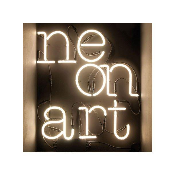 Seletti Neon Art lys-bogstaver og shapes - tal 0-9