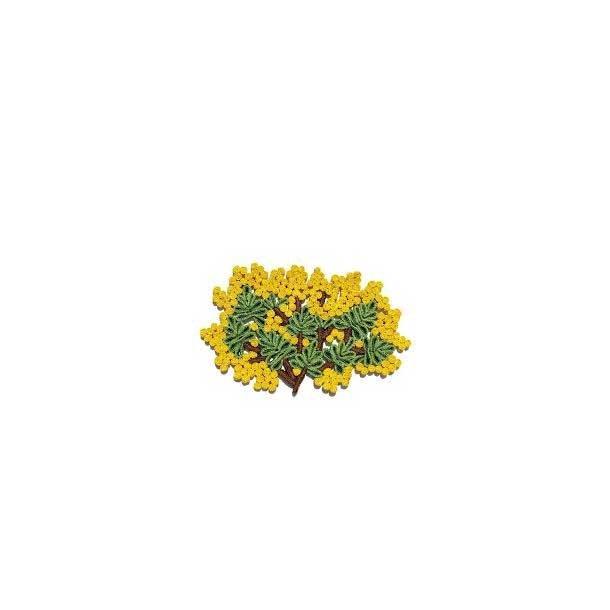 Seletti bordskåner, Florigraphie, Mimosa, stor