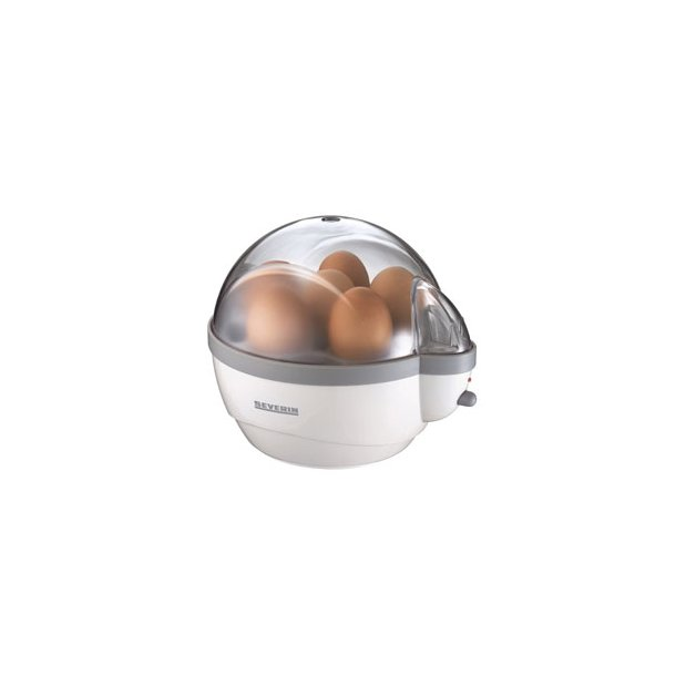 Severin Æggekoger 1- 6 æg EK3051 - 400 Watt - hvid
