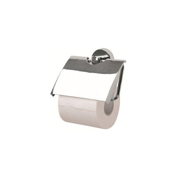 Spirella Sydney Toiletpapirholder med dækplade