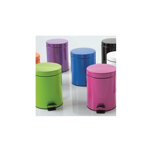 Spirella Sydney Pedalspand - 3 liter - 8 farver