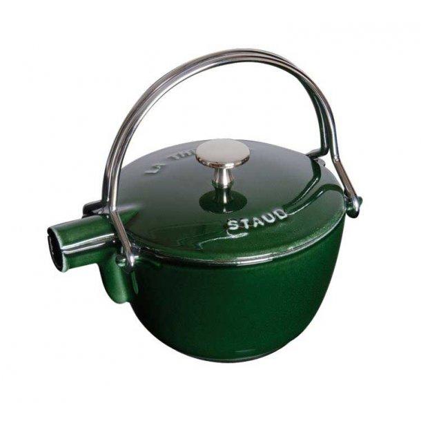 Staub tekande i støbejern - Grøn / Basilic