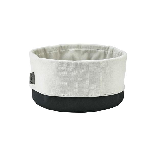 Stelton Brødpose - stor Ø 23 cm - sort / sand