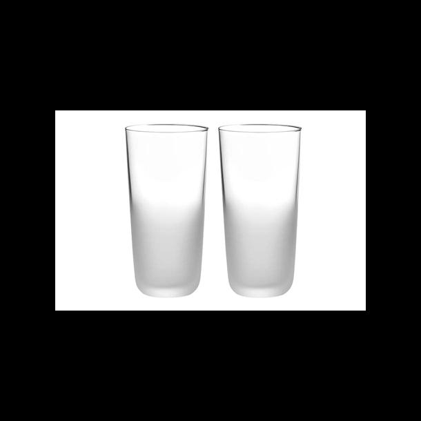 Stelton Frost Glas nr. 2 i mundblæst glas 235ml - 2 stk. i æske