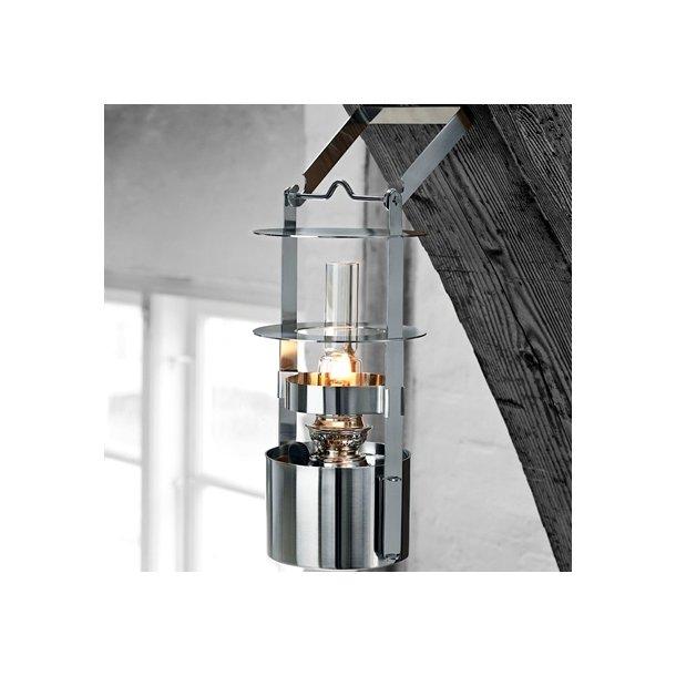 Stelton EM Skibslampe 34 cm i satinpoleret rustfri stål