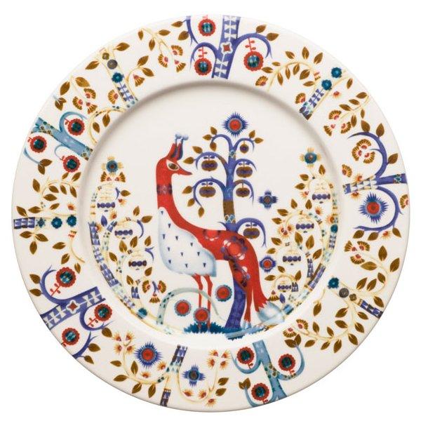 iittala Taika Tallerken flad med dekoration, 27 cm - 4 farver