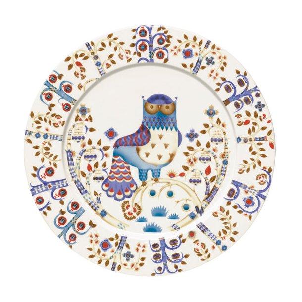 iittala Taika Tallerken flad med dekoration, 30 cm - 3 farver