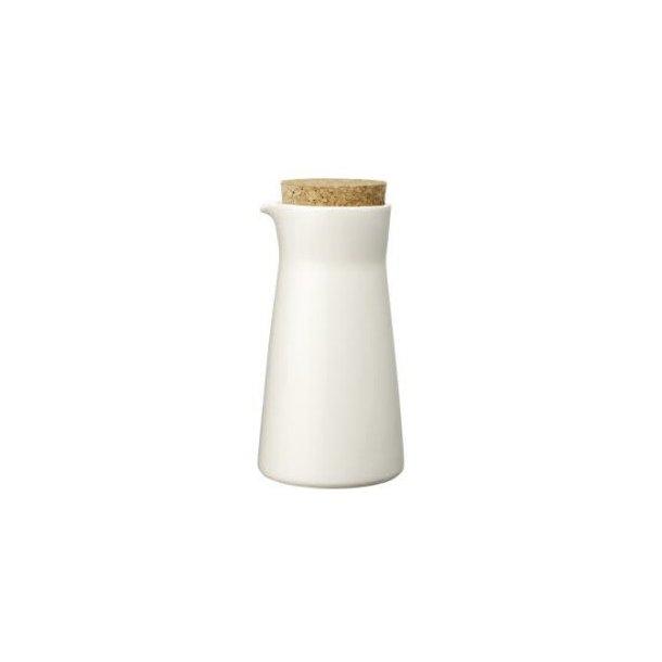 Teema mælkekande med låg 20 cl - hvid