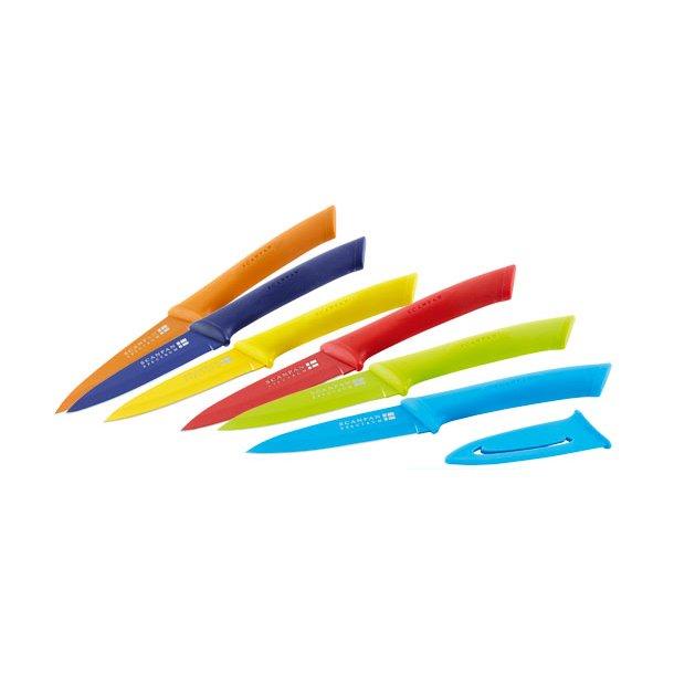 Scanpan Spectrum Universalkniv, 9 cm - flere farver