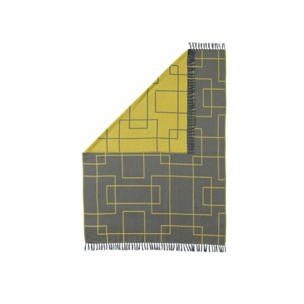 Neon Living Plaid i 100 % ren uld 130 x 170 cm- 5 farver