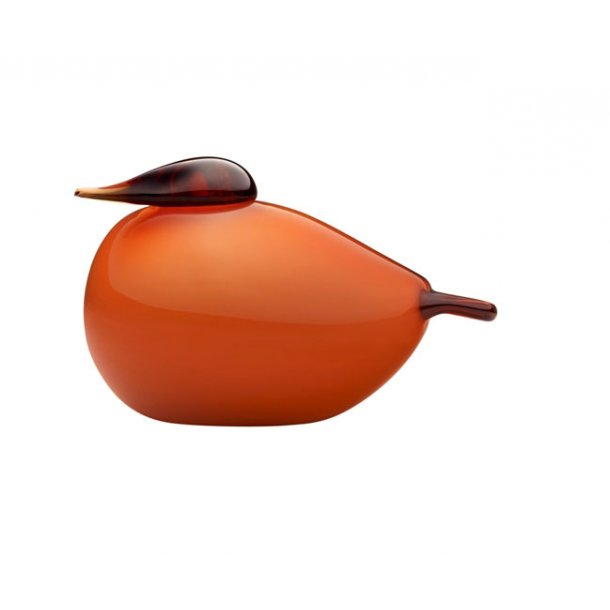 iittala Puffball bird Seville orange, stor