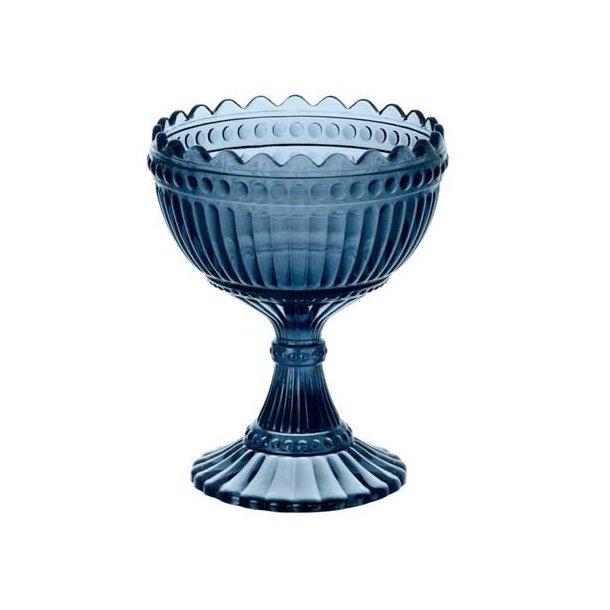 Marimekko skål i farvet glas, 15 cm - 2 farver