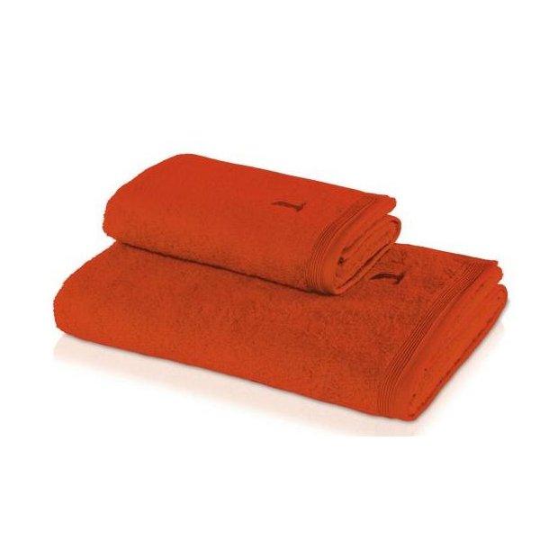 Möve Håndklæde i frotté - Superwuschel - Red Orange - 4 størrelser