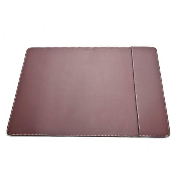 Ørskov Skriveunderlag S - enkelt - brun læder