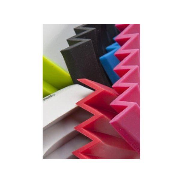 Ørskov ZigZag Sæbeskål i gummi - 8 farver
