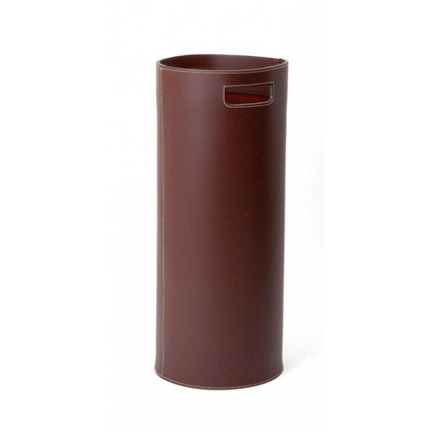 Ørskov Paraplyholder - brun læder - 58 cm