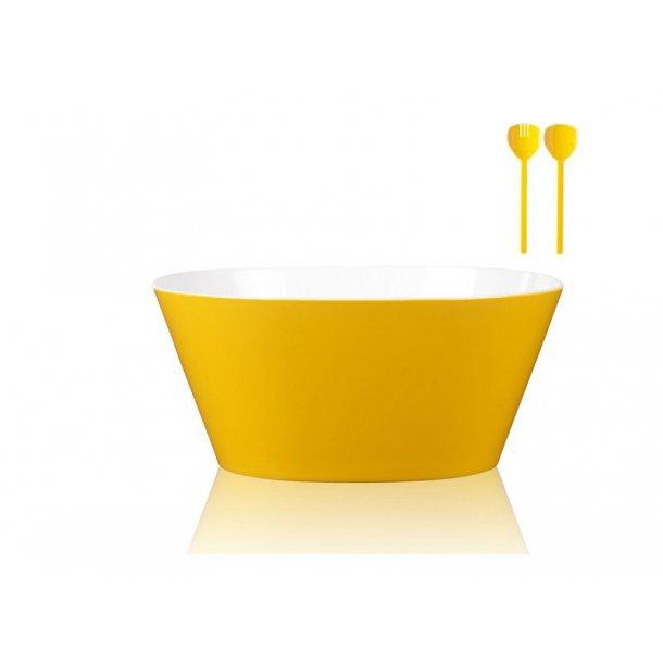 Rosti Mepal Conix Serveringsskål m. salatsæt - 5 liter - 2 farver