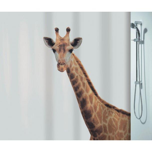 Spirella Giraffe Badeforhæng 180 x 200 cm