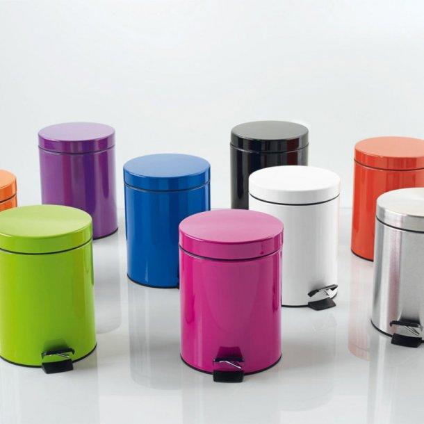 Spirella Sydney Pedalspand - 5 liter - 8 farver