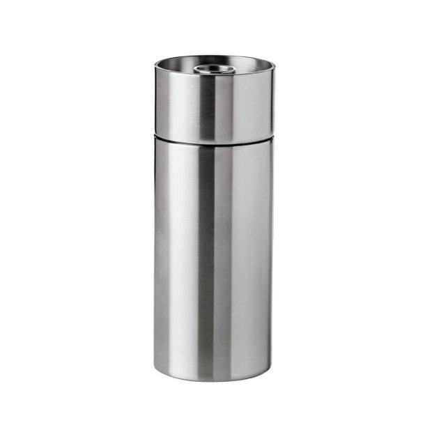 Stelton AJ Saltkværn i rustfri stål - 12,5 cm - CylindaLine