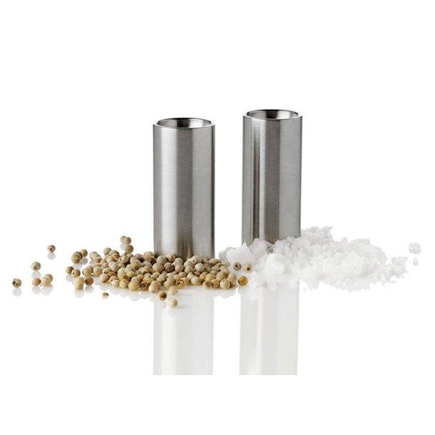 Stelton AJ Salt- og Pebersæt i rustfri stål - CylindaLine