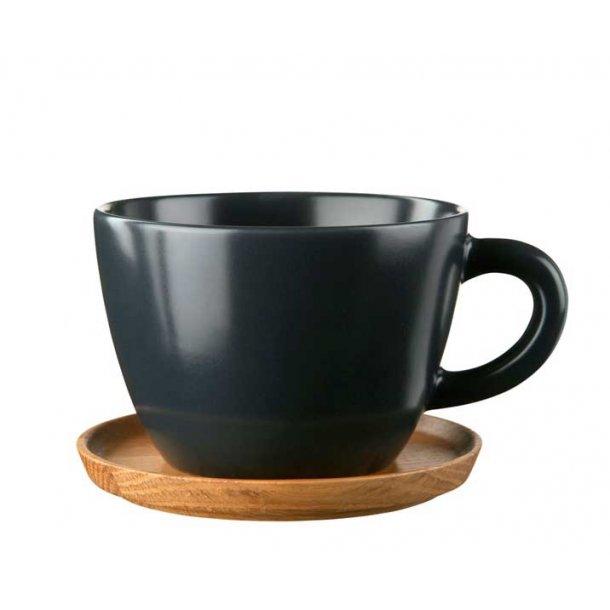 Höganäs Tekrus i keramik 50 cl med træbrik - mange farver