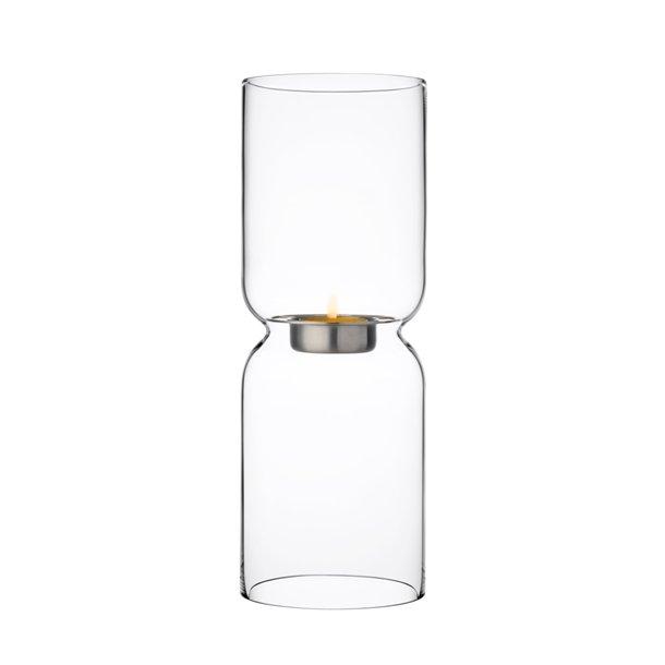 Iittala Lantern Fyrfadsstage i mundblæst blyfri krystal - 25 cm - klar