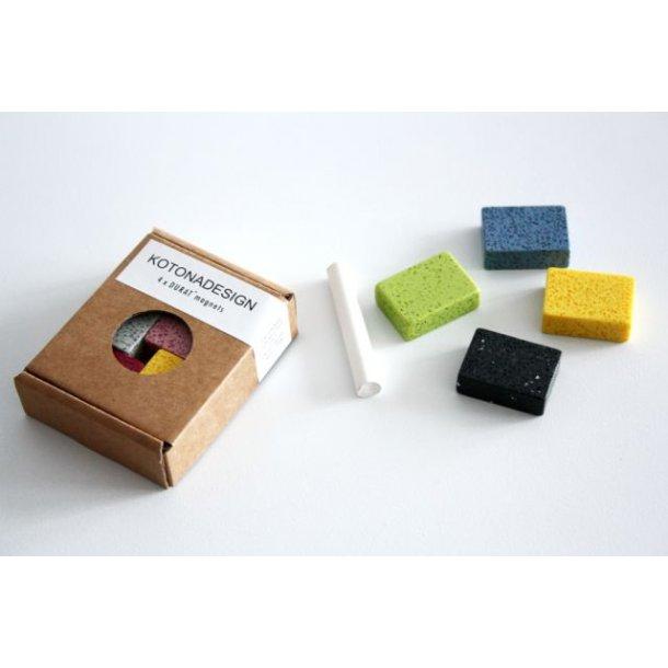 Kotona Design Durat Magneter til opslagstavle - sæt med 4 stk
