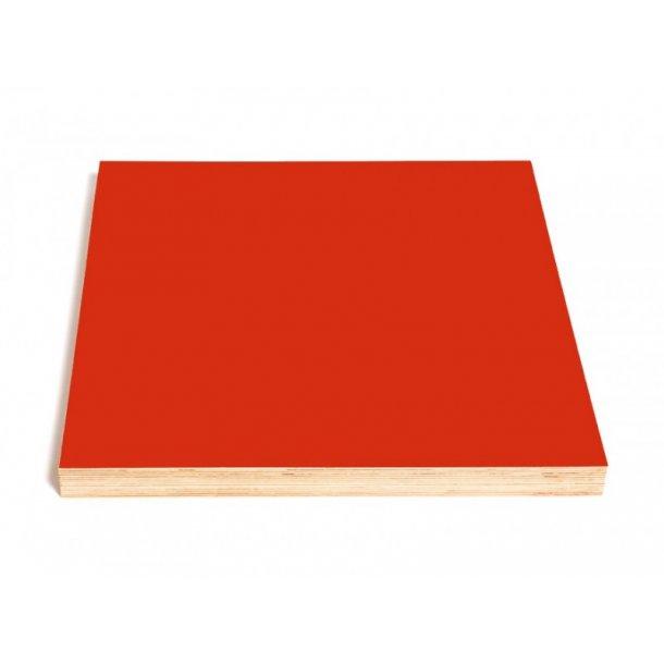 Kotona Design Tavle til kridt, pen og magneter - 40x40cm - rød