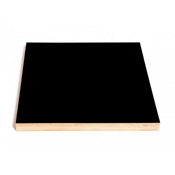 Kotona Design Tavle til kridt, pen og magneter - 40x40cm - sort