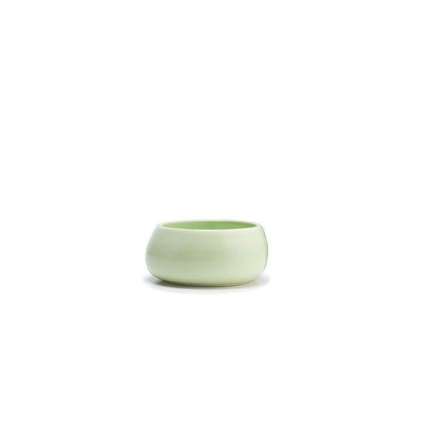 Kähler Mano Sukkerskål i keramik Ø 95 mm - hvid