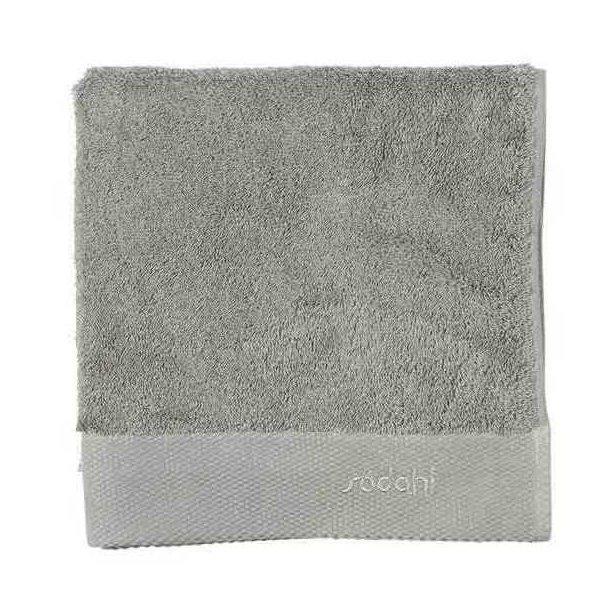 Södahl Comfort håndklæde i ren bomuld - grå - 4 størrelser