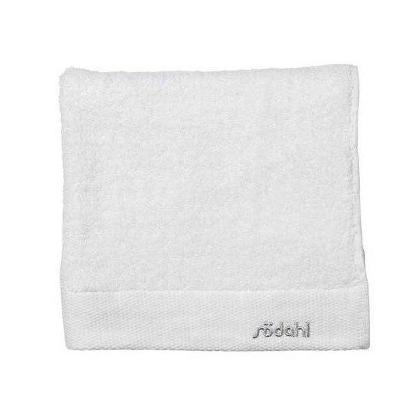 Södahl Comfort håndklæde i ren bomuld - hvid - 4 størrelser